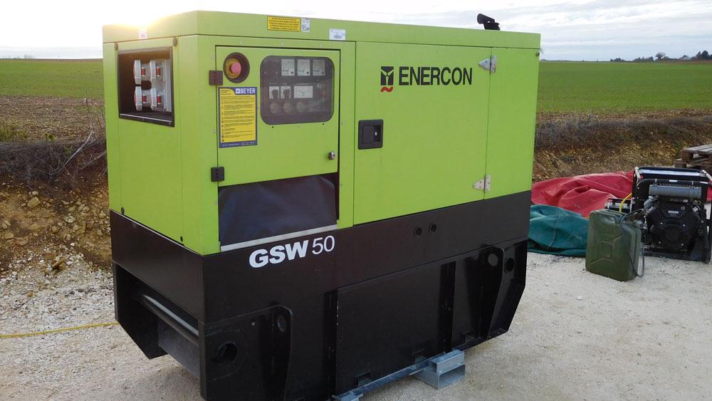 groupe électrogène professionnel Enercon